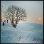 Moonset near Lian