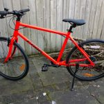Frogbike 78 neon red